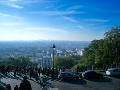 Ausblick vom Montmartre, Paris, Frankreich