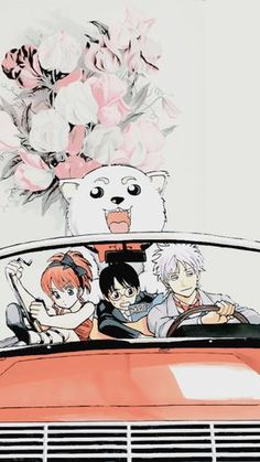 Favourite Anime + Wallpapers✯Gintama →Requested my anon! Manga Anime, All Anime, Anime Art, Samurai, Cute Cartoon Wallpapers, Animes Wallpapers, Boca Anime, Gintama Wallpaper, Anime Lock Screen
