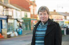 "David Tomlinson in Shildon Town Centre where ""Shildon Alive' is located."