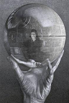 M.C. Escher Star Wars