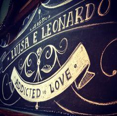 Lousa Casamento Luisa e Leonardo