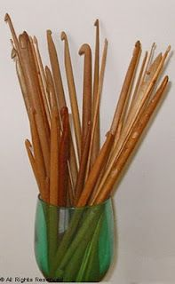 Antique and Vintage Crochet Hook Inspiration  a blog for collectors of hooks, information on caring for them also