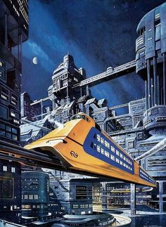 Railway of the Future by Don Lawrence | Explore LEGO Dog's p… | Flickr - Photo Sharing!