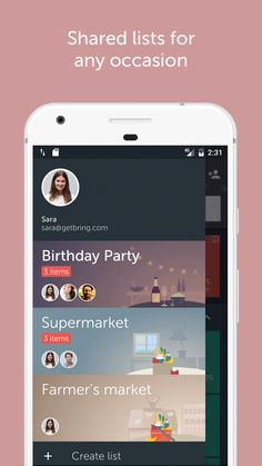 Share your shopping list with your partner, family or flatmate. Create List, Shopping List Grocery, Android Apps, Bring It On, How To Plan, Google Play, Sample Resume, Clever, Shopping