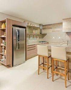 Espaço Gourmet: Cozinhas modernas por Charis Guernieri Arquitetura