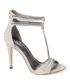 Another great find on #zulily! Gray Florence Sandal #zulilyfinds