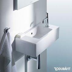 Duravit Vero Handwaschbecken weiß mit 1 Hahnloch rechts - 0703500008 | Reuter Onlineshop