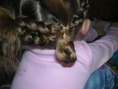 Split French Braid Headband & Pigtails | Hairstyles For Girls - Princess Hairstyles