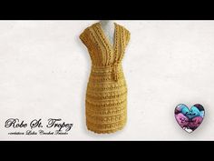 - YouTube Lidia Crochet Tricot, Knit Crochet, Vanessa Montoro, Crochet Clothes, Elsa, Crafty, Knitting, Handmade, Ladies Dresses