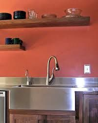 Image result for stainless steel restaurant apron sink