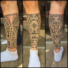 tattoo maori perna - Pesquisa Google