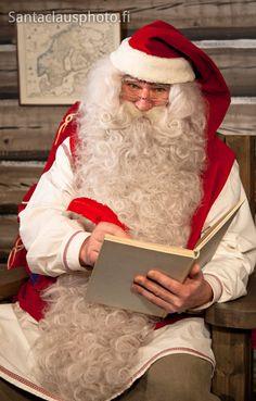 Santa Claus in Santa's House in Rovaniemi in Lapland (Finland)