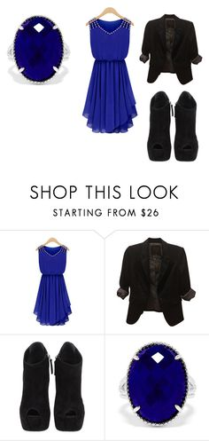 """""""little bit of good, little bit of bad"""" by long-long72 ❤ liked on Polyvore featuring The Limited, Giuseppe Zanotti and Effy Jewelry"""