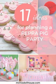 Peppa Pig Birthday Party Ideas | Mimi's Dollhouse