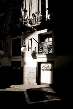 """Sun and Shadow in typical """"Austrian Madrid"""" street"""