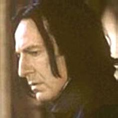 Alan Rickman as Severus Snape | Super bloogasek o Harrym Potterze