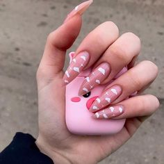 In search for some nail designs and ideas for your nails? Listed here is our listing of must-try coffin acrylic nails for modern women. Simple Acrylic Nails, Clear Acrylic Nails, Summer Acrylic Nails, Pastel Nails, Acrylic Nail Designs, Simple Nails, Summer Nails, Aycrlic Nails, Swag Nails