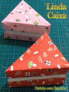 Diy Crafts Hacks, Diy Crafts For Gifts, Diy Home Crafts, Diy Crafts Videos, Cool Paper Crafts, Paper Crafts Origami, Instruções Origami, Diy Gift Box, Diy For Kids