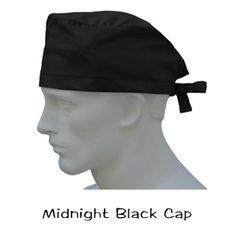 Surgical Caps Midnight Black