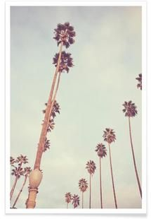 Streets of Los Angeles - Catherine McDonald - Premium Poster