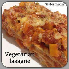 Vegetarian lasagne-www.sistermixin.com