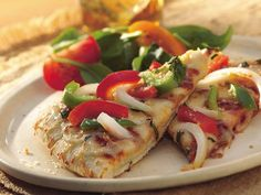 Grilled Bell Pepper and Cheese Pizza from Eat Better America