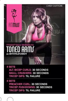 .Toned Arm Workout | Posted by: AdvancedWeightLossTips.com