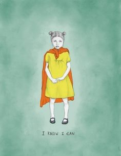 I know I can art print by shirae on Etsy