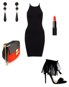 """Untitled #2"" by medina-93 ❤ liked on Polyvore featuring Chloé, NARS Cosmetics and Givenchy"