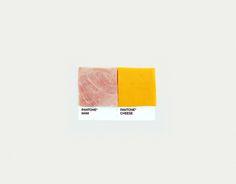 Food Art Pairings by David Schwen, via Behance