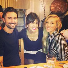 Kourtney Kardashian at her surprise Happy Birthday party with family Brandon Jenner and his wife Leah Felder Jenner