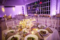 Brides: A Glamorous Winter Wedding at Studio450 in New York