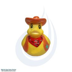 Rubber Duck Toy: Cowboy Duck Key Chain