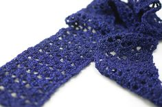 Glamour Scarf pattern available at www.TheCrochetArchitect.com.