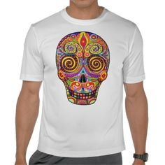"T-Shirt ""Dia de Los Muertos"" for men, boy, Männer, Jungs"
