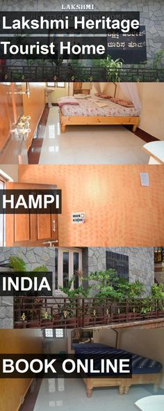 Hotel Lakshmi Heritage Tourist Home in Hampi, India. For more information, photos, reviews and best prices please follow the link. #India #Hampi #travel #vacation #hotel