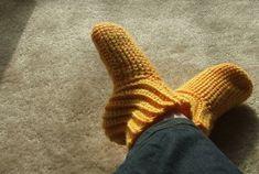 Slipper Socks and more super cozy crochet slipper patterns at mooglyblog.com!