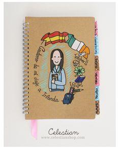 cuadernos personalizados  www.celestianshop.com