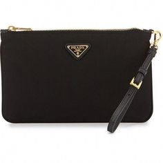 6910c461d983 Prada Tessuto Small Wristlet Bag ( 330) ❤ liked on Polyvore featuring bags