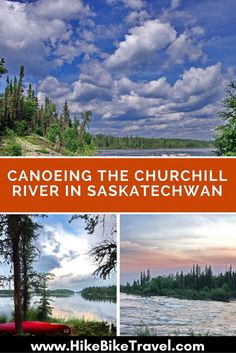 Canoeing the Churchill River from Trout Lake to Missinipe, Saskatchewan takes 3 - 4 days. Expect lakes broken by rapids & falls along the route. Canoe Camping, Canoe Trip, Canoe And Kayak, Churchill, Canoeing, Kayaking, White Water Kayak, Canadian Travel, Visit Canada
