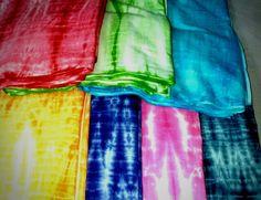 Cotton Tye Dye Shibori Running Fabric