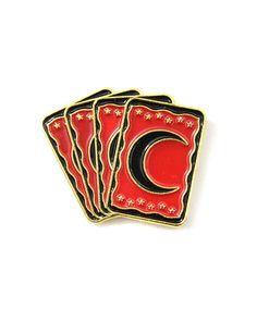 Tarot Cards Lapel Pin