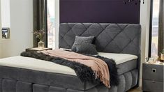 Couch, Furniture, Home Decor, Chic Master Bedroom, Velvet, Grey, Nice Asses, Settee, Decoration Home