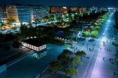 Πάνω από τον Κήπο Των Γλυπτών Thessaloniki, Marina Bay Sands, Building, Travel, Viajes, Buildings, Destinations, Traveling, Trips