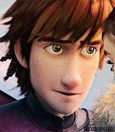 Reasons why I love hiccup: 1) his scars!  2) his eyes 3) his hair 4) not to mention the personality: 5) adorableness 6) awkward/attractive dorkyness...  Shall I go on?