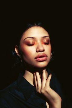 Vanessa shot by Chase Zalewski. Makeup by Whitney Olson