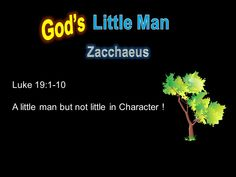 Gospel For Today, Zacchaeus, Google Page