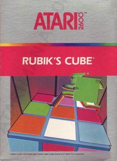 "Juego para la consola Atari 2600 "" RUBIK'S CUBE""  (CX 2698 )"