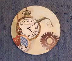 """""""Fracción de tiempo"""" 060 x 060 Óleo sobre madera"""