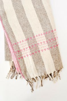 Druzi Wool Blanket by KOROMIKO